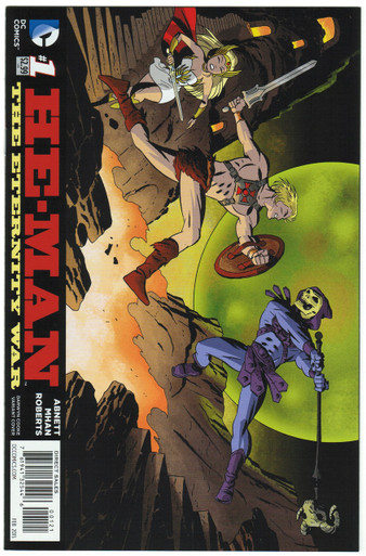 He-Man: Eternity War #1 NM Darwyn Cooke Variant Front Cover