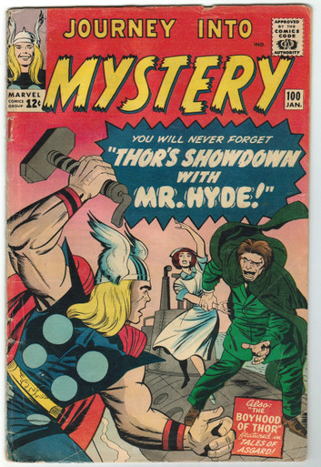 Journey Into Mystery #100 VG Front Cover