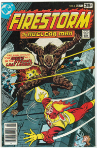 Firestorm #4 VF Front Cover