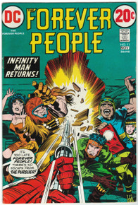 Forever People #11 FN Front Cover
