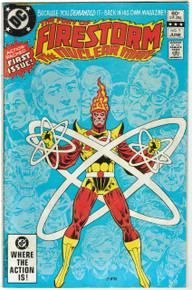 Fury of Firestorm #1 VG Front Cover