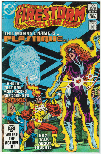 Fury of Firestorm #7 VF Front Cover