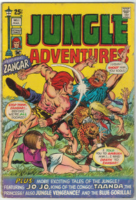 Jungle Adventures #1 GD Front Cover
