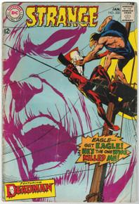 Strange Adventures #208 VG Front Cover
