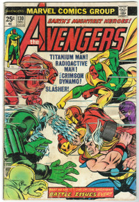Avengers #130 VG Front Cover