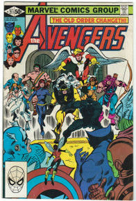 Avengers #211 FN Front Cover
