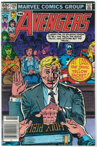 Avengers #228 FN Front Cover