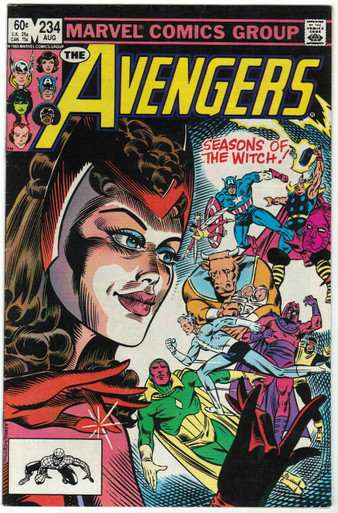 Avengers #234 FN Front Cover