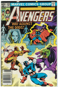 Avengers #220 FN Front Cover