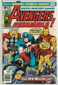 Avengers #151 VG Front Cover