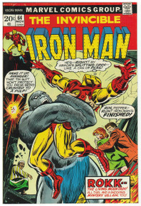 Iron Man #64 VF Front Cover