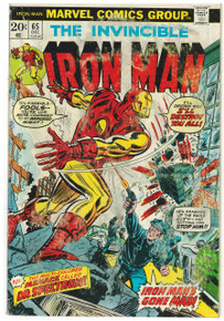 Iron Man #65 GD Front Cover