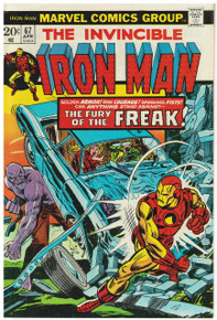Iron Man #67 VF Front Cover