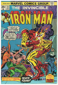 Iron Man #72 FN Front Cover