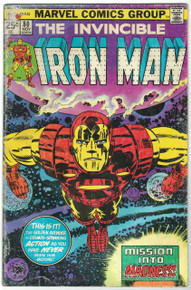 Iron Man #80 GD Front Cover