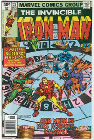 Iron Man #123 VG Front Cover