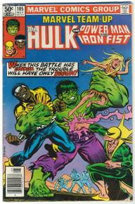 Marvel Team Up #105 GD Front Cover