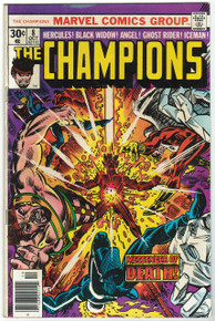 Champions #8 VG Front Cover