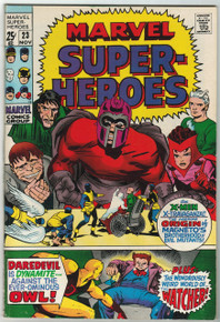 Marvel Super Heroes #23 FN Front Cover