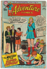 Adventure Comics #396 GD Front Cover
