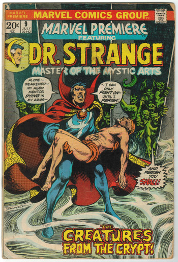 Marvel Premiere #9 GD Front Cover