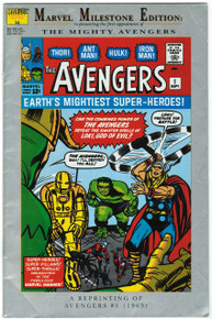 Avengers #1 Marvel Milestone Edition VG Front Cover