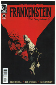 Frankenstein Underground #1 NM Front Cover