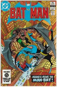 Batman #361 NM Front Cover