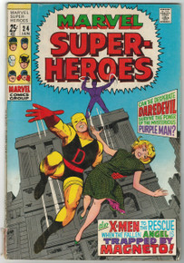 Marvel Super Heroes #24 VG Front Cover
