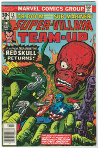 Super Villain Team Up #10 FN Front Cover