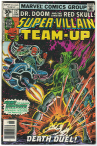 Super Villain Team Up #12 FN+ Front Cover