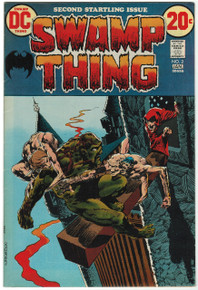 Swamp Thing #2 FN/VF Front Cover