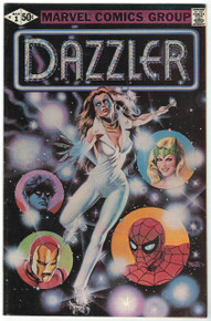 Dazzler #1 VF Front Cover