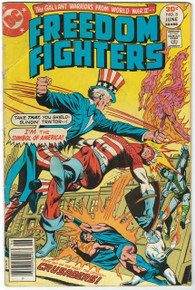Freedom Fighters #8 GD Front Cover