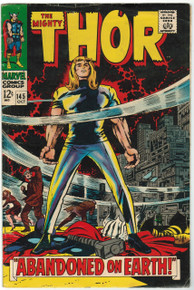 Thor #145 VG Front Cover