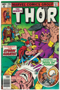 Thor #295 FN Front Cover