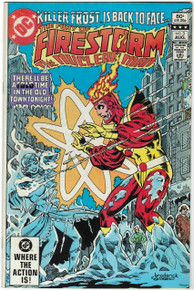 Fury of Firestorm #3 VF Front Cover
