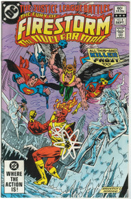 Fury of Firestorm #4 VF Front Cover
