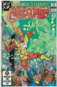 Fury of Firestorm #5 VF Front Cover