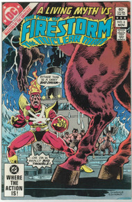 Fury of Firestorm #6 VF Front Cover