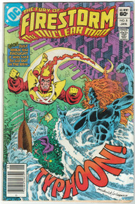 Fury of Firestorm #8 VG Front Cover