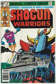 Shogun Warriors #8 FN Front Cover