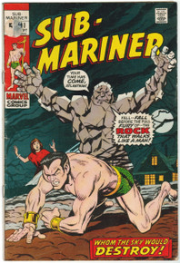 Sub Mariner #41 VG Front Cover
