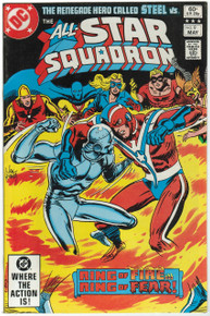 All Star Squadron #9 VF Front Cover