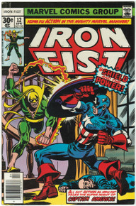 Iron Fist #12 VG Front Cover