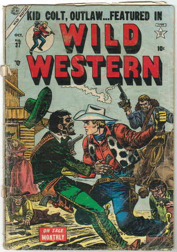 Wild Western #37 GD Front Cover