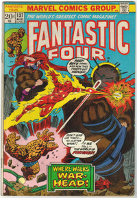 Fantastic Four #137 VG+ Front Cover