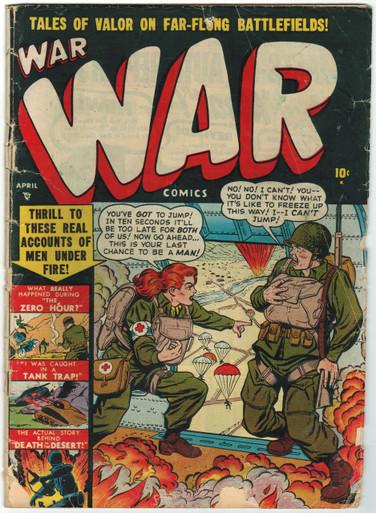 War Comics #3 FR Front Cover