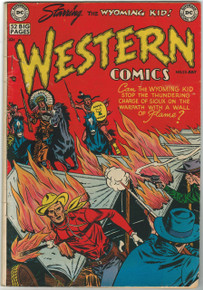 Western Comics #25 VG Front Cover