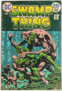 Swamp Thing #10 FR Front Cover